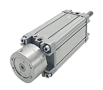 Cylinders with integrated locking unit