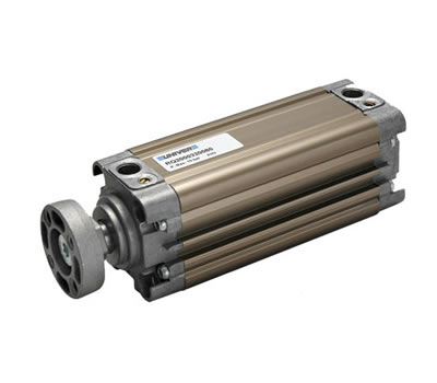 Heavy duty non-rotating compact cylinders