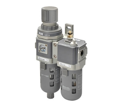 Filtrer regulator + lubricator