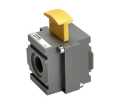 Lockable valve