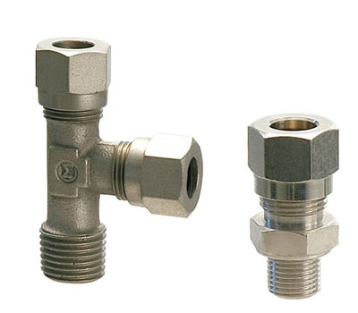 Olive compression fittings