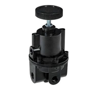 Precision regulator for high flow