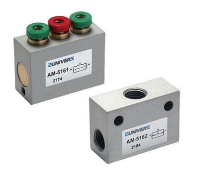Signal processing valves G1/8 - tube Ø 4